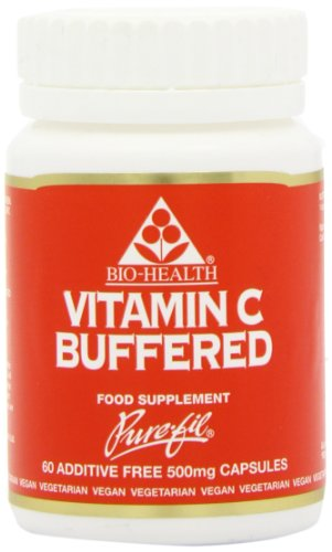Bio-Health 500mg Buffered Vitamin C - Pack of 60 Capsules