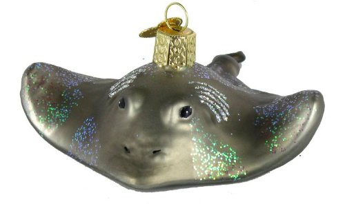 Old World Christmas Stingray Glass Blown Ornament