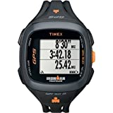 Timex Ironman Run Trainer 2.0 GPS Watch, Black/Orange
