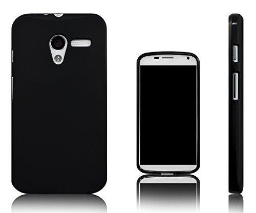 Vapour Flexibel TPU Gel Schutzhülle Für Motorola Moto X schwarz