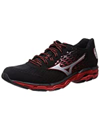 Mizuno 2015 FW Men Wave Inspire 11 Running Sneaker Shoes J1GC154406 Black