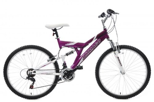 Adult dual suspension mountain bike