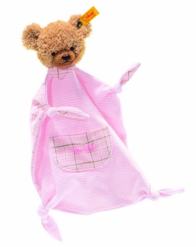 Steiff Sleep Well Bear Comforter, Pink [Baby Product] [Baby Product] front-891243