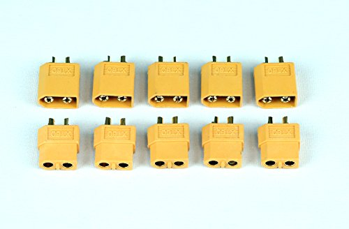 Summitlink® 5 Pairs XT60 Male Female Connector Lipo Battery DJI Phantom F550 F450 XT 60 Plug