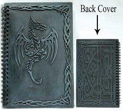 Blank Black Book: 5 1/2 x 8 1/2 Unlined, Dragon (BBBU559)