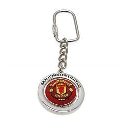 Manchester United F.C. Spinner Keyring FB