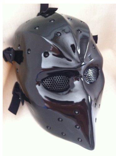 Buy NHL Hockey Goalie Mask Vintage Parent Black Fiberglass Airsoft Mask Fiberglass...