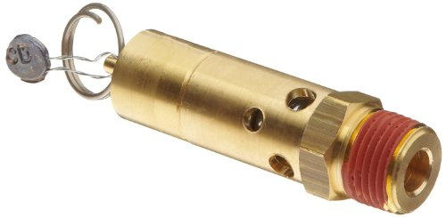 Control Devices SF Series Brass ASME Safety Valve, 150 psi Set Pressure, 1/2