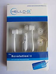 Generic Hello G RX08 Universal Headphone (White)