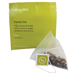 Masala Chai Tea Sachet from Argo Tea