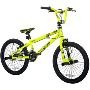 "Amazon.com : 20"" Thruster Chaos Boys' BMX Bike, Neon Yellow : Sports"