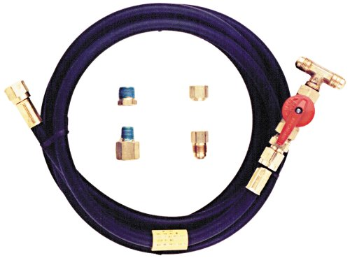 Trident Marine G-265-120 Low Pressure L.P. Gas BBQ Connection Tee And 10' L.P. Supply Line Hose, Low Pressure