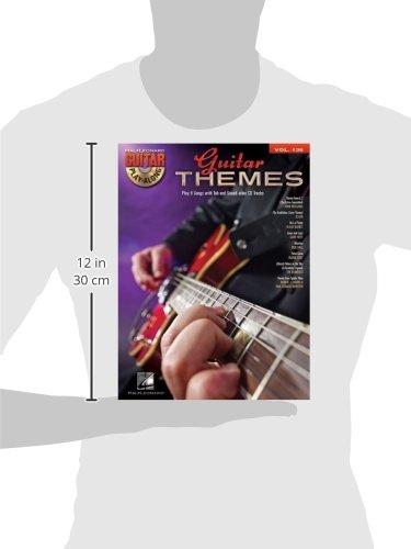 Guitar Themes: Guitar Play-Along Volume 136 (Hal Leonard Guitar Play-Along)