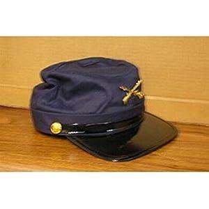 Civil War Union Navy Blue Cotton Adjustable Dress-Up Cap