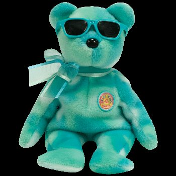TY Beanie Baby - PICNIC the Bear (BBOM August 2007) - 1