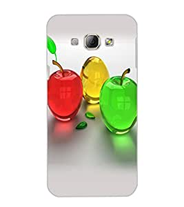 SAMSUNG GALAXY A8 COLORFUL APPLES Back Cover by PRINTSWAG