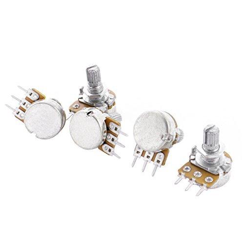 Einstellung oben Split Rändelwelle Potentiometer Pot B50K 50K Ohm 5pcs