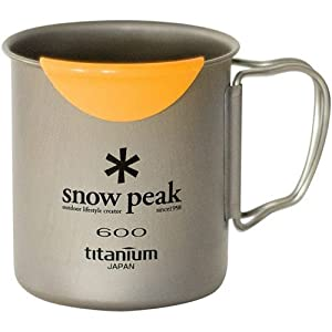 Snow Peak HotLips Titanium Mug by Snow Peak