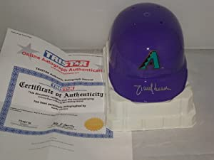 Randy Johnson Signed Arizona Diamondbacks Mini Helmet, TRISTAR Authentic
