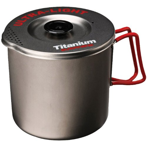 Evernew Titanium Pasta Pot, Medium