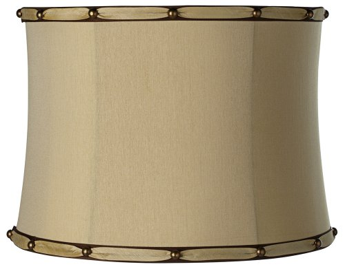 Morell Almond Drum Lamp Shade 14x15x11 (Spider)