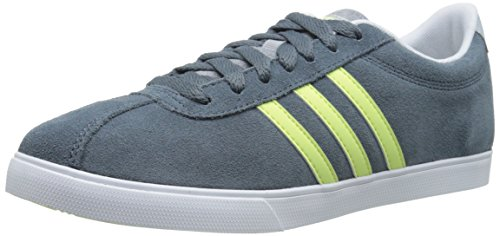 Adidas NEO Women's Courtset W Sneaker, Grey/ Frozen Yellow/ White, 9.5 M US