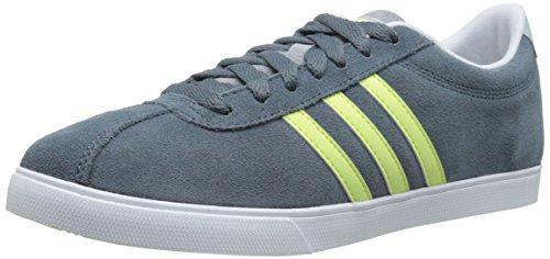 Adidas NEO Women's Courtset W Sneaker, Grey/ Frozen Yellow/ White, 11 M US