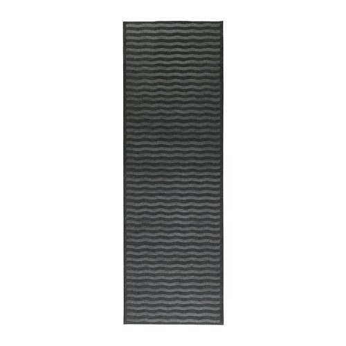 Ikea Indoor Gray Entryway Hallway Runner Mat Rug Anti-slip 26 X 78""