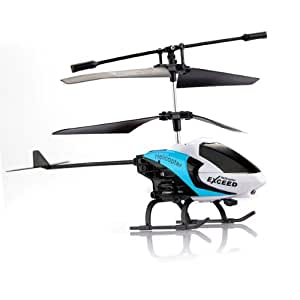 3.5CH Channel Helicopter Gyro IR RC Radio Remote Control Children Blue