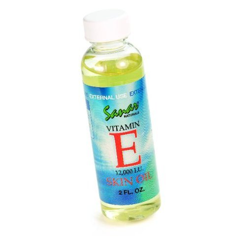 Sanar Naturals Vitamin E Skin Oil 12000 IU, 2 Fluid Ounce