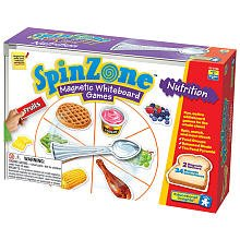 Educational Insights SpinZone Magnetic Whiteboard Nutrition Games from Educational Insights