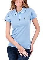 Polo Club Original Mini Rigby Sra Mc (Azul Celeste)