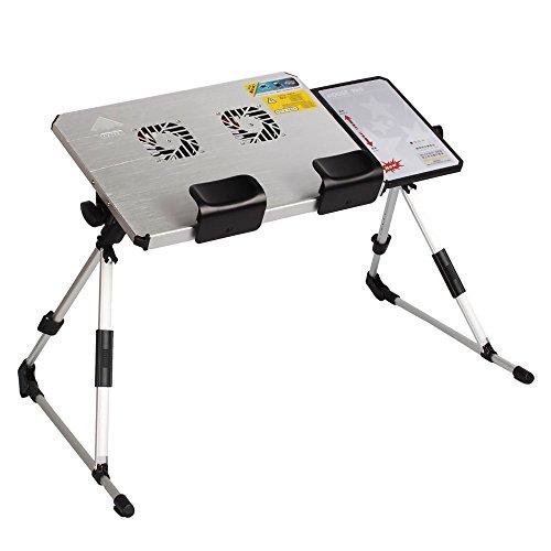 Adjustable Aluminum Alloy Lap Desk Portable Laptop Table