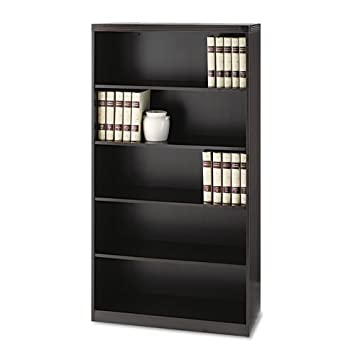 MLNAB5S36LDC - Mayline Aberdeen Series Laminate 5-Shelf Bookcase