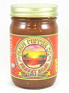 Maui Pepper Hot Pineapple Mango Sunset Salsa