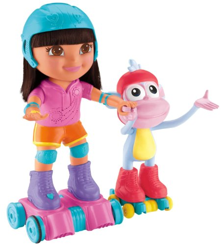 Skate & Spin Dora & Boots front-92744