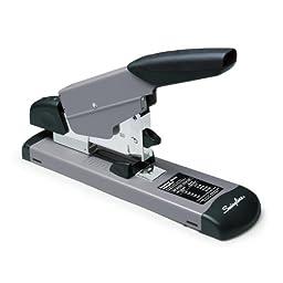 Swingline Heavy Duty Stapler, 160 Sheets, Black/Gray (S7039005)