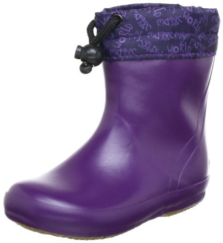 Viking Spinner Summer Rubber Boots Unisex-Child Purple Violett (Lila 6) Size: 19