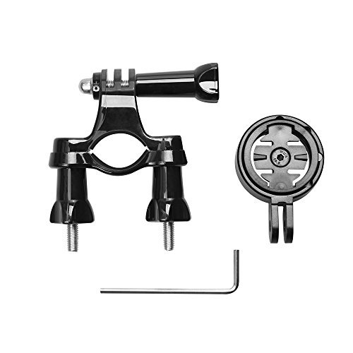 Bike Handlebar Seatpost Mount Stand with Adapter Holder for Garmin Edge Cycle GPS Accessories for Gopro 2 3 3+ 4 4s (Garmin Edge 800 Cycling Gps compare prices)