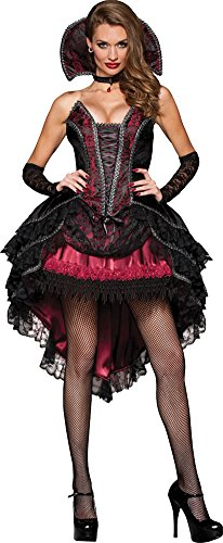 Vampire Vixen Adult Costume Lg 12-14 Halloween Costume