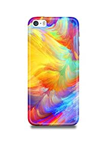 Colorful Pattern iPhone SE Case