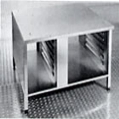 Rational Combination Oven Stand c/w GN Size Rails UG2