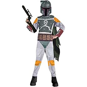 Boba Fett Bounty Hunter Halloween Costume