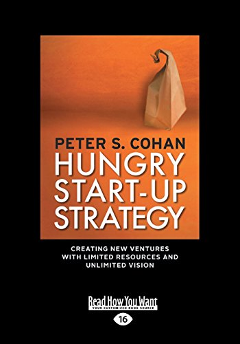 Hungry Start-Up Strategy (Large Print 16pt)