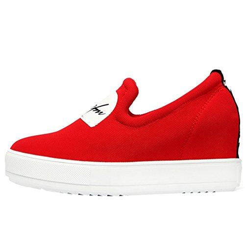fq-real-girls-fashion-platform-side-zipper-slip-on-lycra-loafer-4-ukred