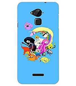 COOLPAD NOTE 3 CARTOONS Back Cover by PRINTSWAG