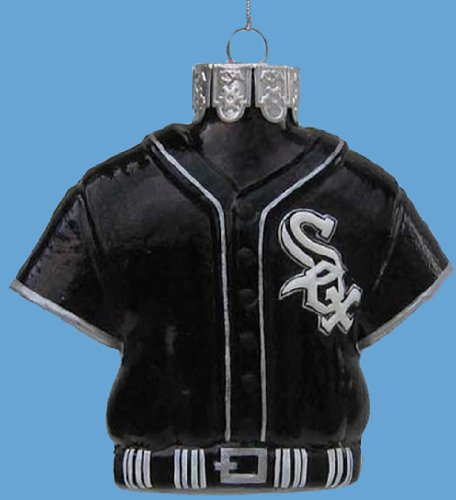 "Kurt S. Adler, Inc. 3.25"" Glass Chicago White Sox Jersey Ornaments (Pack Of 72) at Amazon.com"