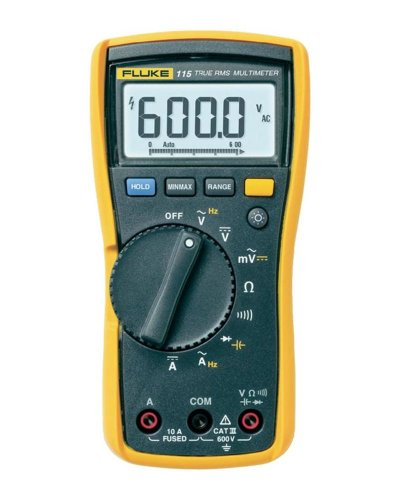 Fluke 115 Compact True-RMS Digital Multimeter photo