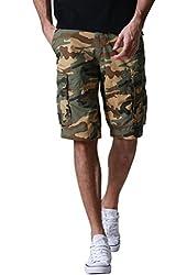 Match Men's Retro Cargo Shorts #S3648