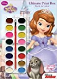 Disney Junior Sofia the First Ultimate Paint Box Book to Color